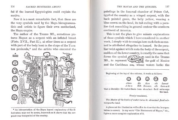 Sacred Mysteries Among Mayas Quiches Masonic By Dr Augustus